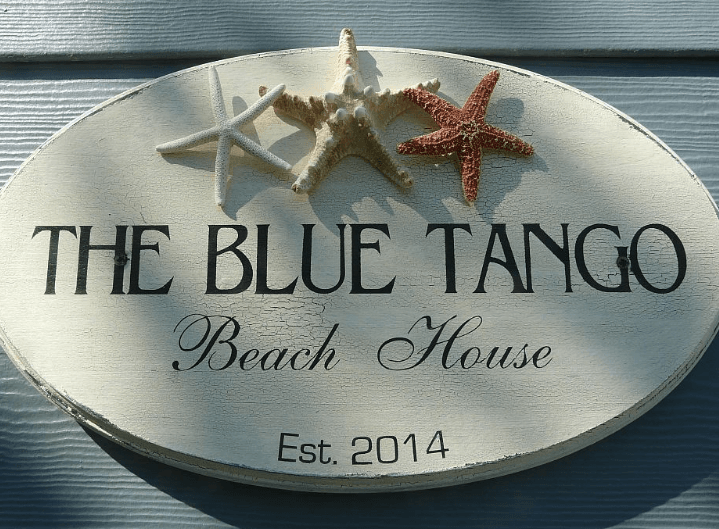 The Blue Tango Sign